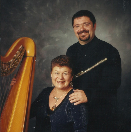 Phyl (Actor/Musician) and Mags (Harpist) Harries